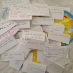 #projectmemory, DIY, mason jar, memories, loose notes