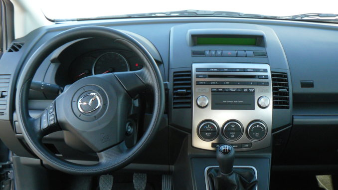 Mazda 5 Interior Dash