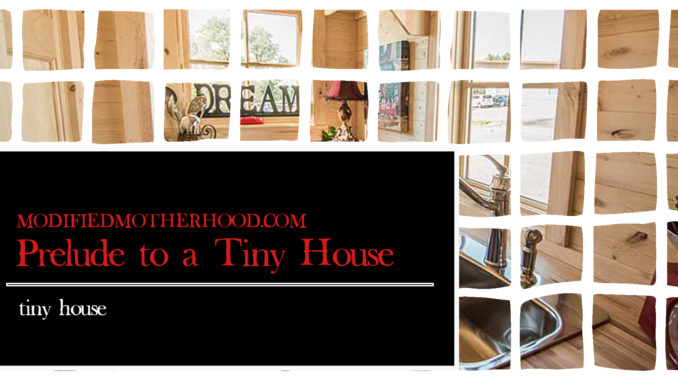 prelude to a tiny house